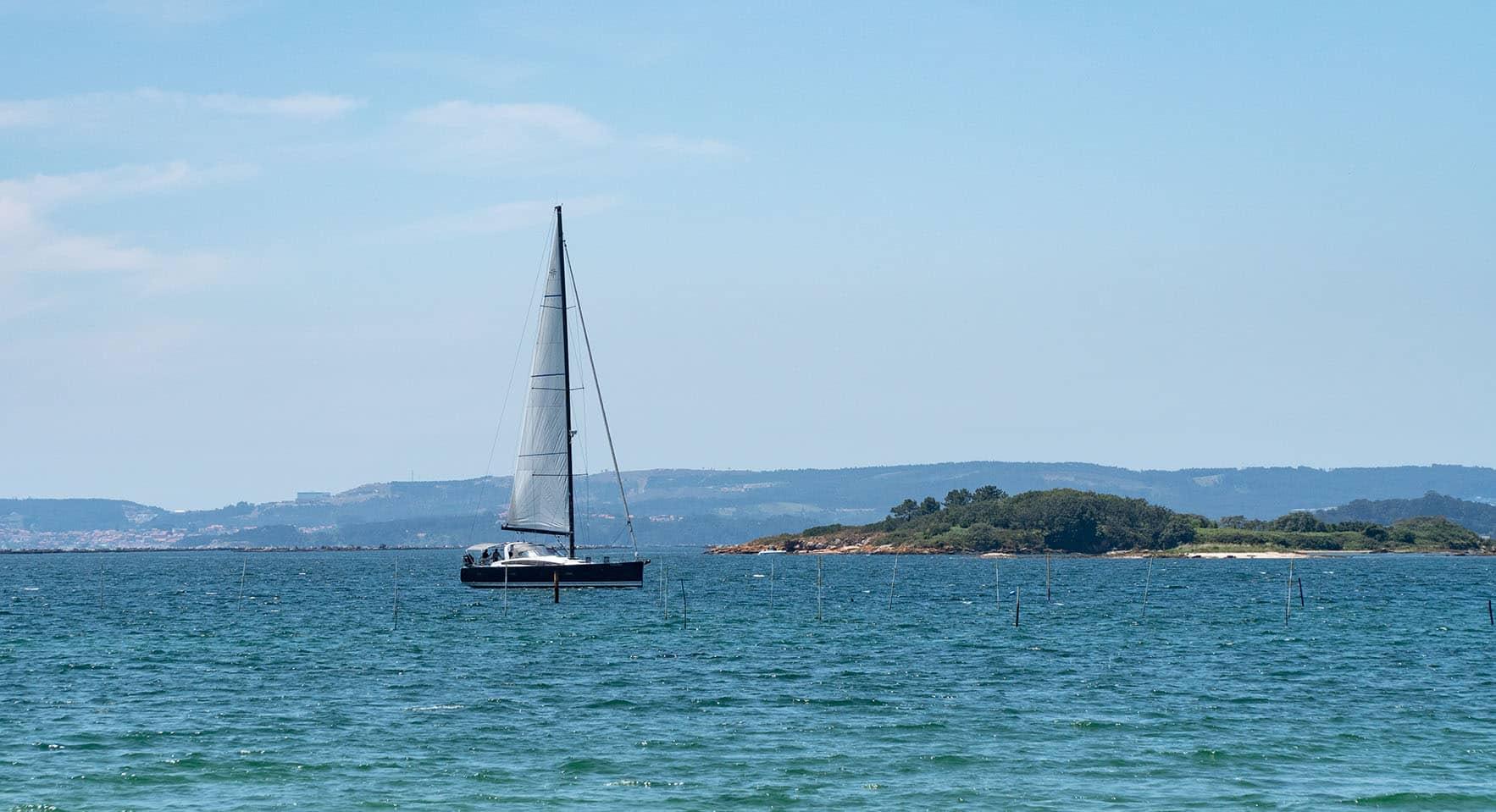 velero en galicia